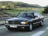 Mercedes S-class Coupe (c126)