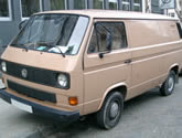 VW Transporter T3 Box