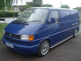 VW Transporter T4 Box